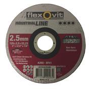 Flexovit Doorslijpschijf 125x2,5x22 mm 2104551