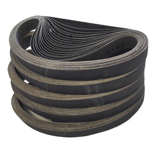 Standaard kwaliteit schuurbanden Ice-Liner en S-1300 (100 stuks)