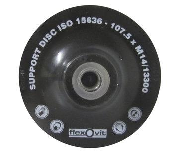 Saint gobain Onderlegschijf 115 mm met moer, art.2656