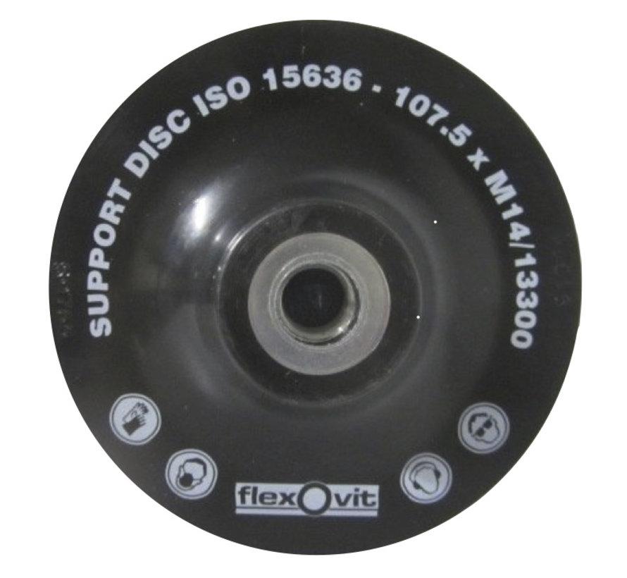 Onderlegschijf 115 mm met moer M14, art.2656