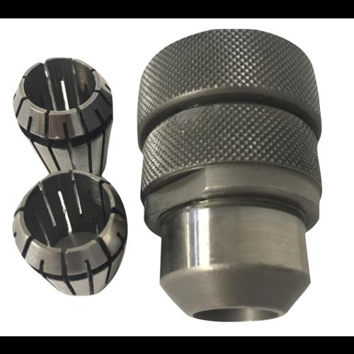Spantanghouder met spantang 14 en 15 mm