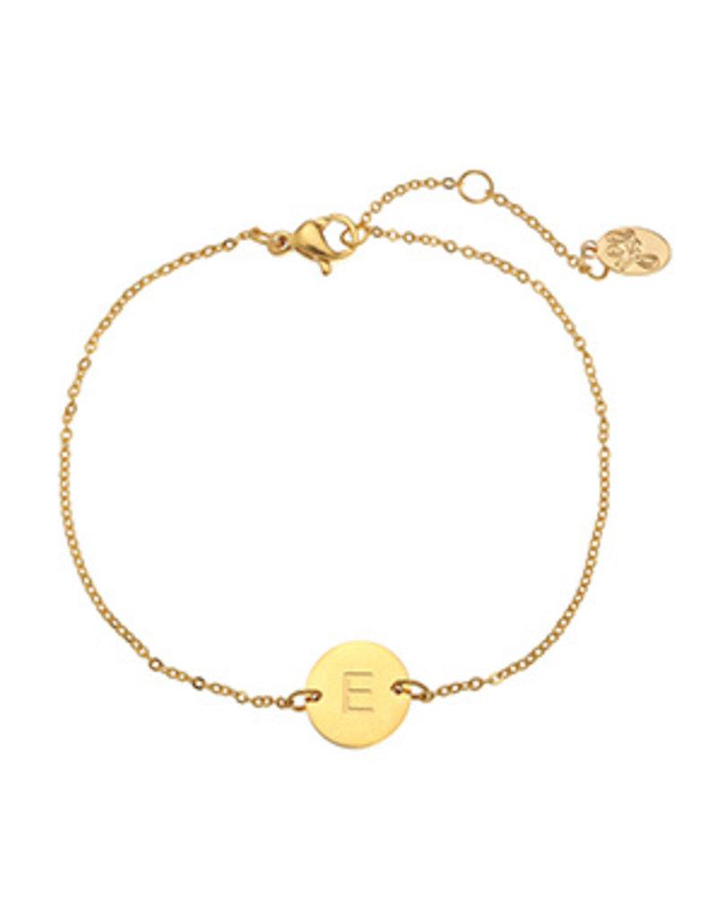 Initialen armband - Goud