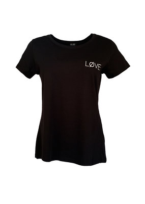 Shirt Løve - Zwart