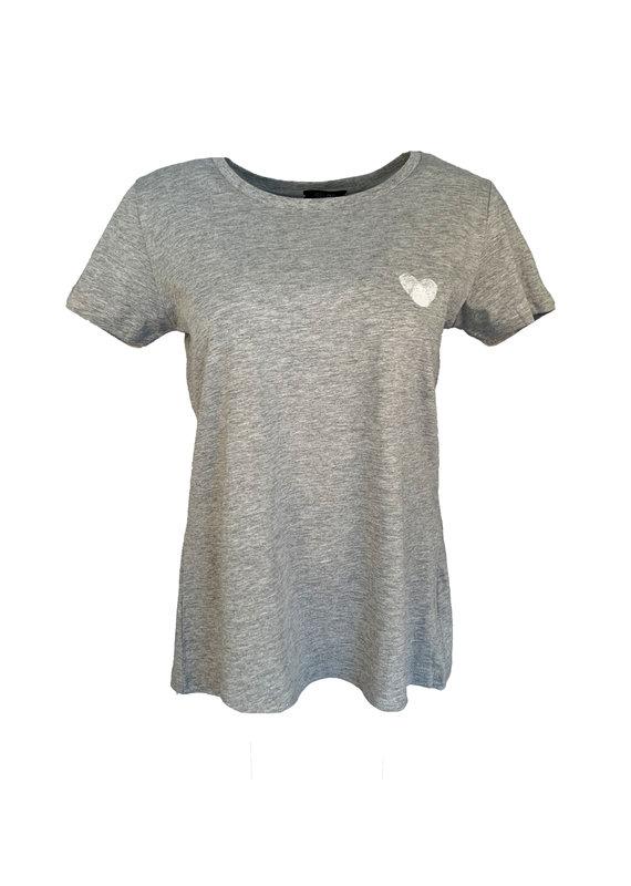 Shirt Heart - Grijs
