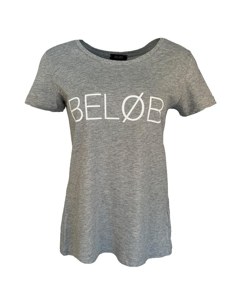Shirt Beløb - Grijs