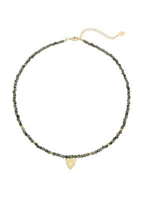 Leopard Beads Ketting - GK09