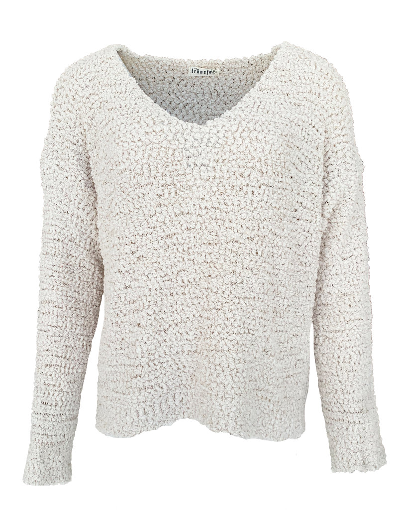 Transfer Cropped Pullover - Champagne