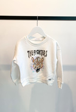 KIDS Cheetah Sweater - Wit