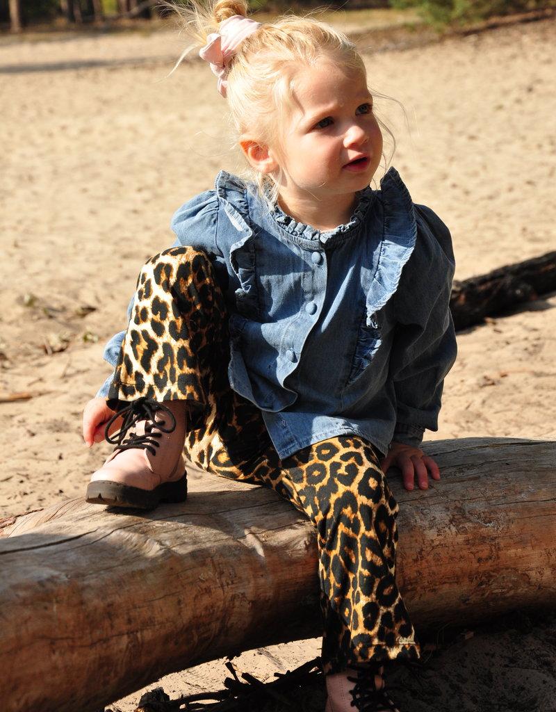 KIDS Leopard Flared - Beige