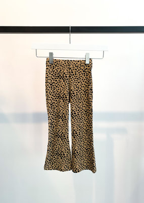 KIDS Cheetah Flared - Beige