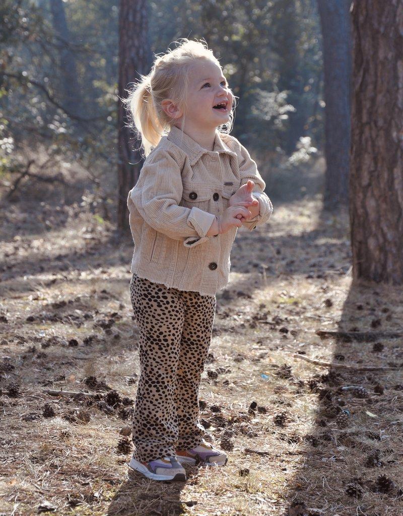 KIDS Cheetah Flared - Beige