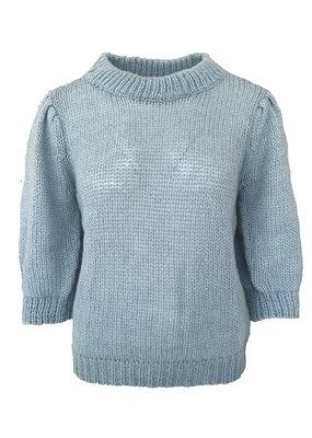 Desires Boa Pullover - Blue