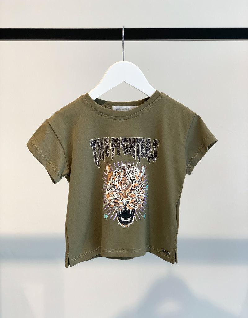 KIDS Cheeath Shirt - Groen