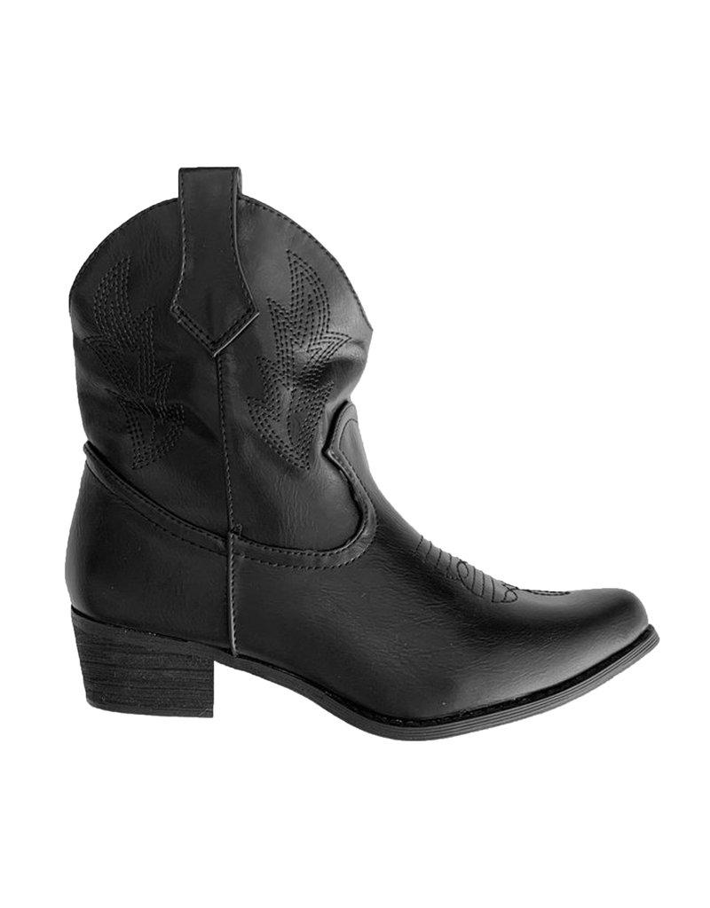 Cowboy Laarsjes - Zwart