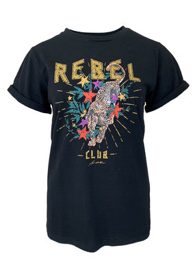 Shirt Rebel  - Zwart