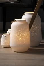 Porcelain Lantern L - Wit