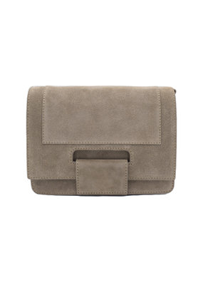 KAAT BAG - Taupe Suede