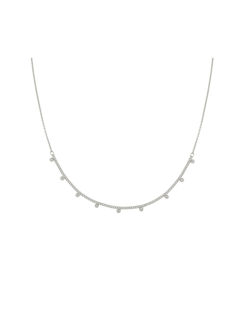 Necklace - Tiny Love Zilver
