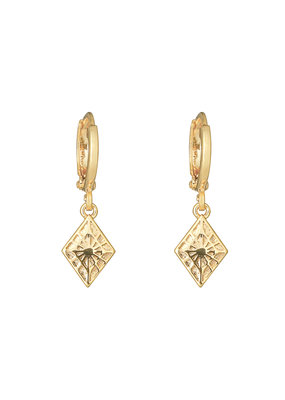 Earring - Lovely Diamond Goud