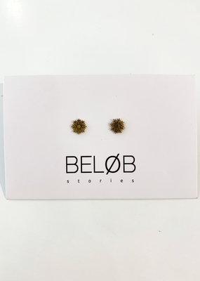 Earring - Snowflake Goud