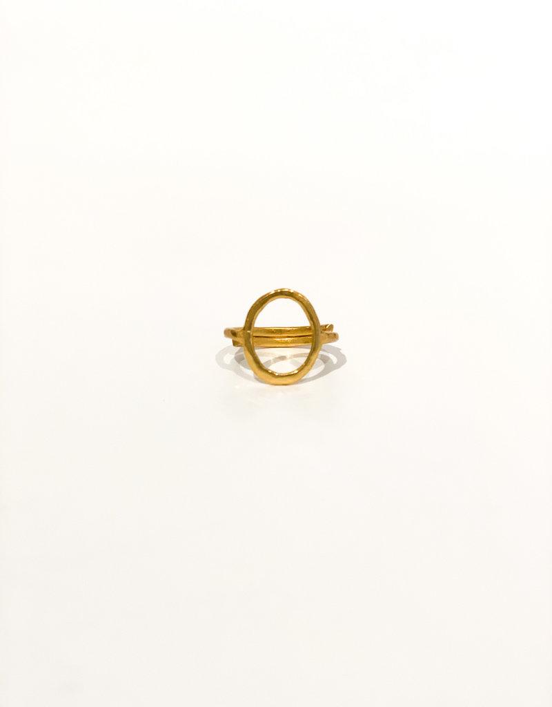 IBU JEWELS Ring - Circle