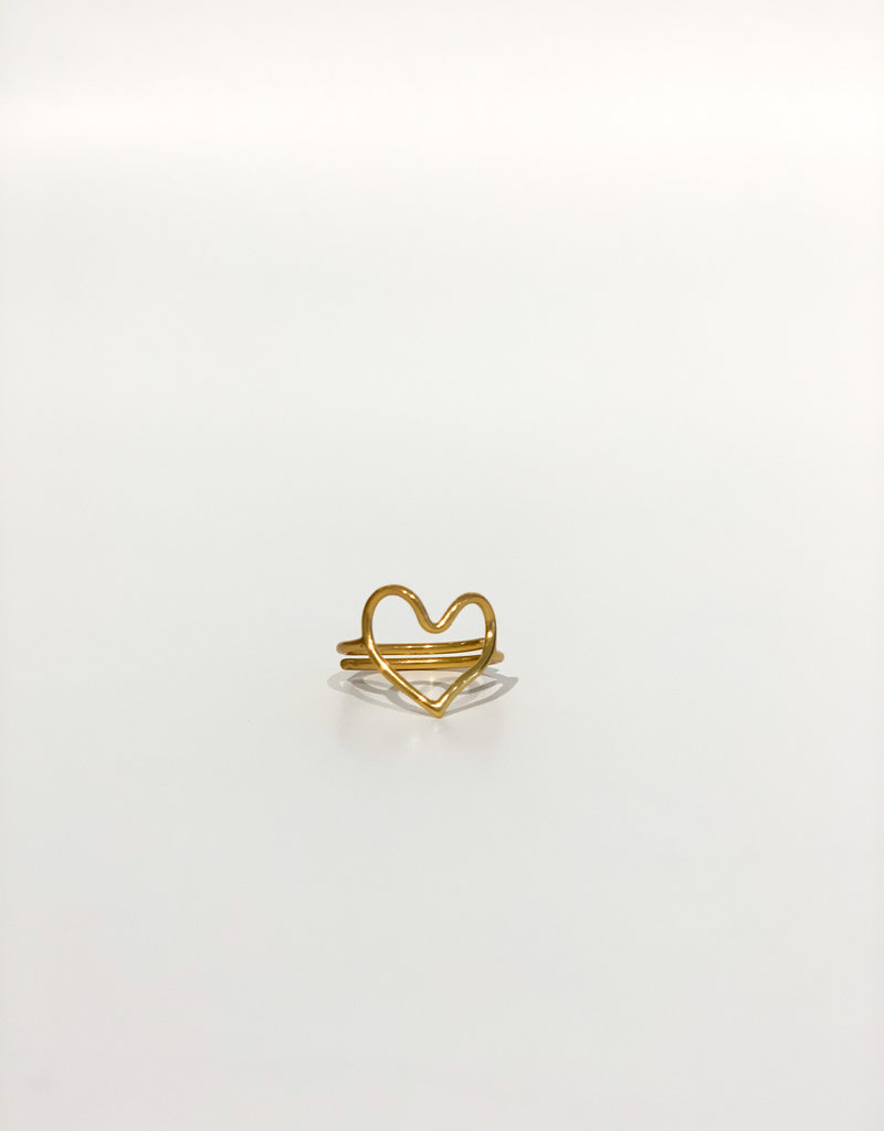 IBU JEWELS Ring - Heart