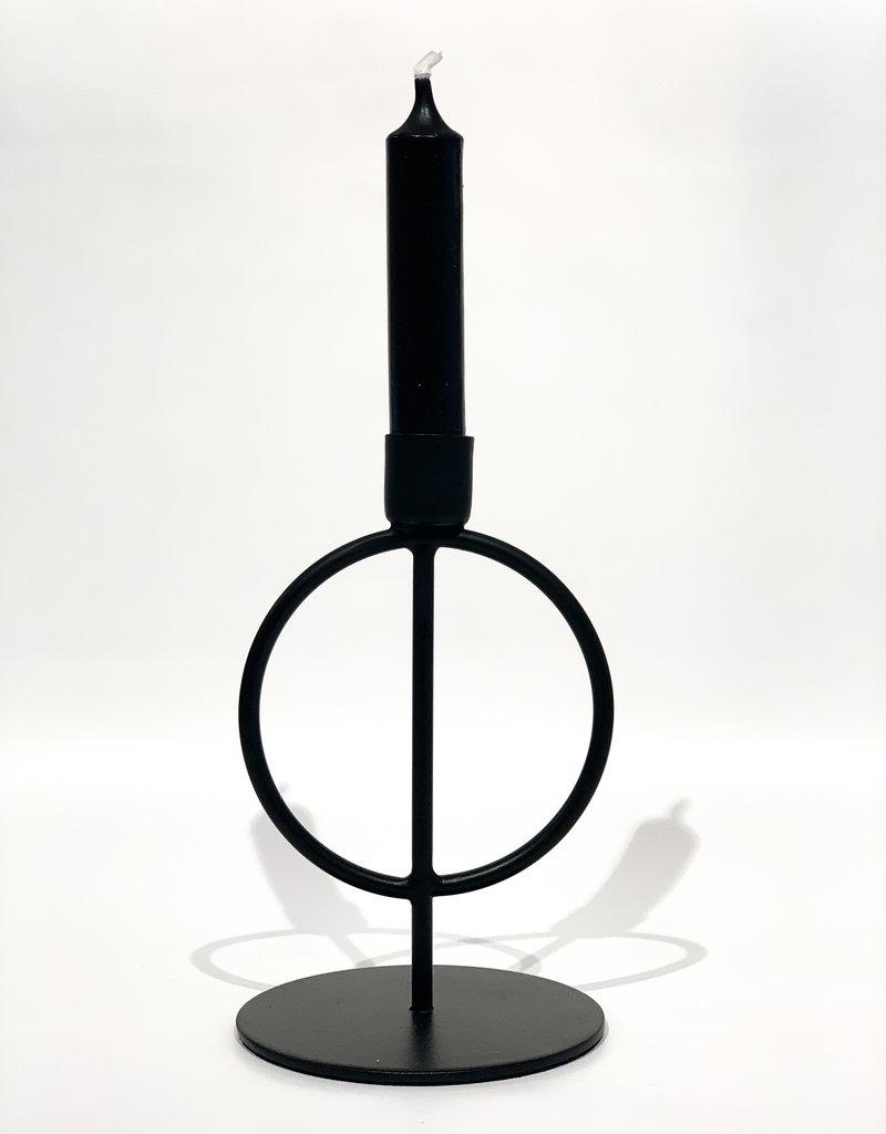 Kandelaar Zwart Mat - M