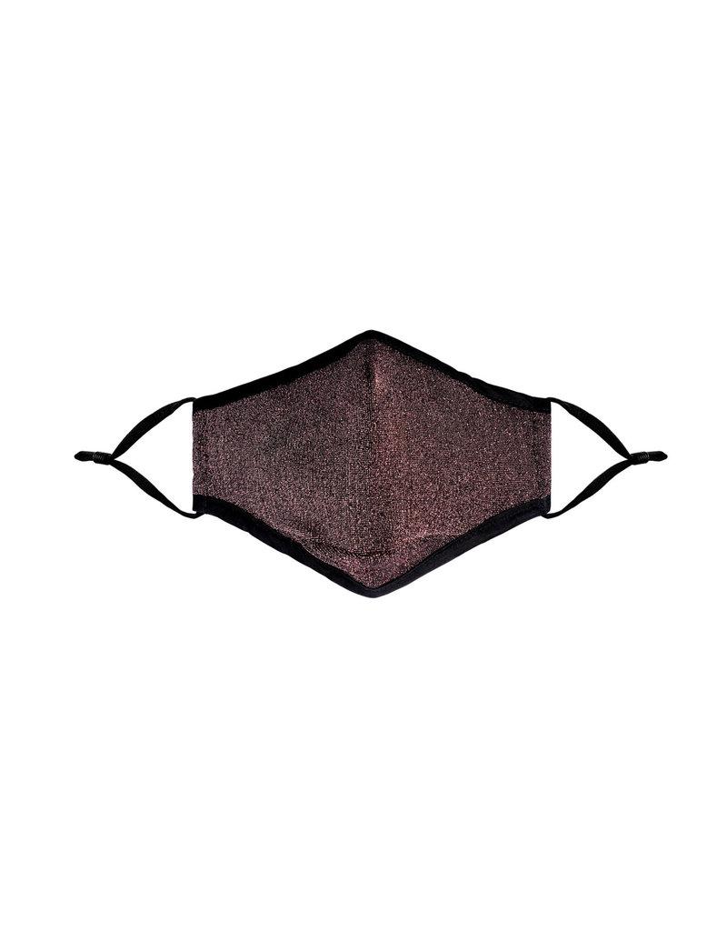 Mondkap Glitter - Roze/Goud