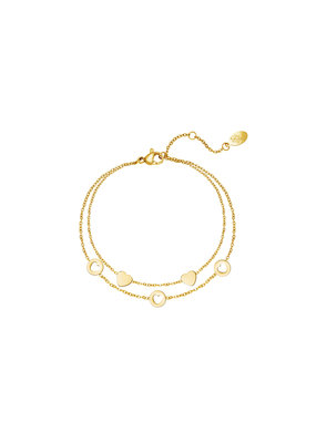 Bracelet - Romance Goud
