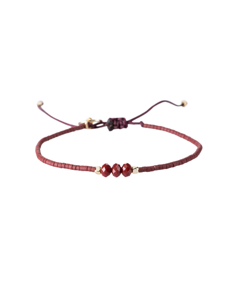 Bracelet Evi - Rood
