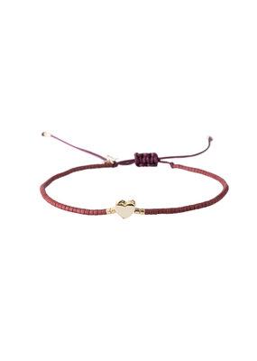 Bracelet Heart - Rood
