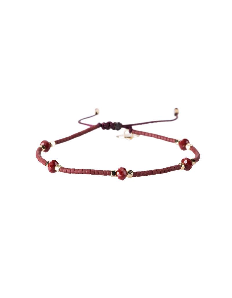 Bracelet Flo - Rood
