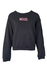 Sweater Mood - Zwart/Pink