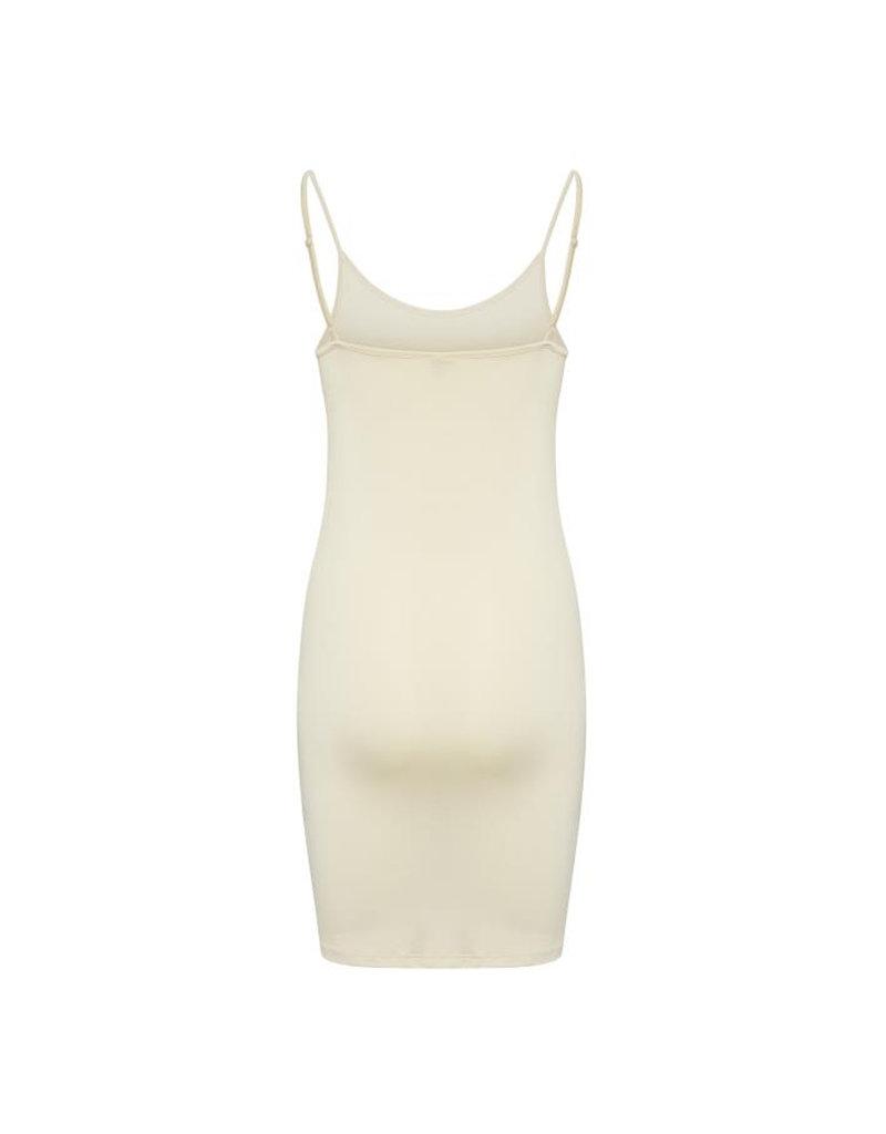 ICHI Luisa Loose Slip Dress - Naturel