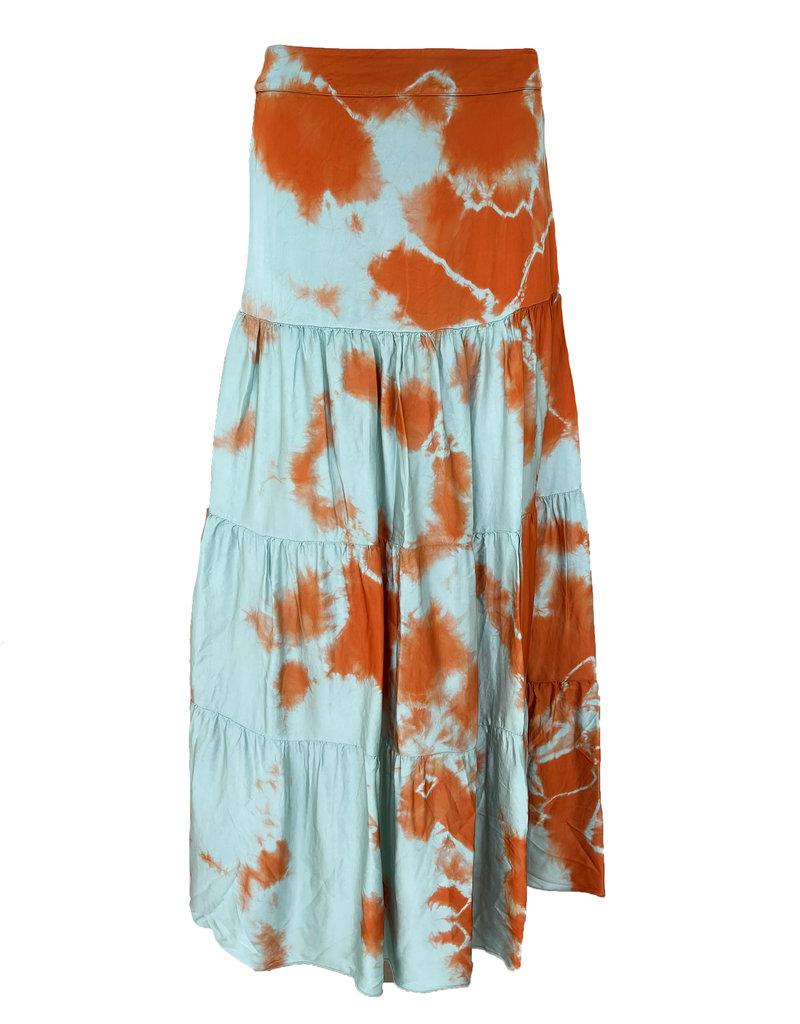 Transfer Skirt Tie & Dye - Zee-Groen