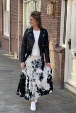 Transfer Skirt Tie & Dye - Zwart