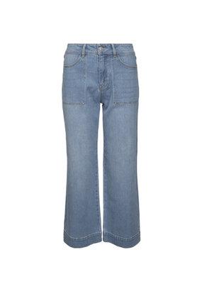 Desires Florence Denim Pants - Light Blue