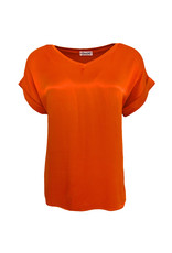 Transfer Short Sleeve Tee - Rood/Oranje