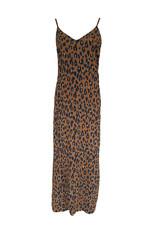 Jurk Leopard - Camel