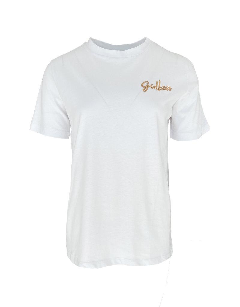 Shirt Girlboss - Wit