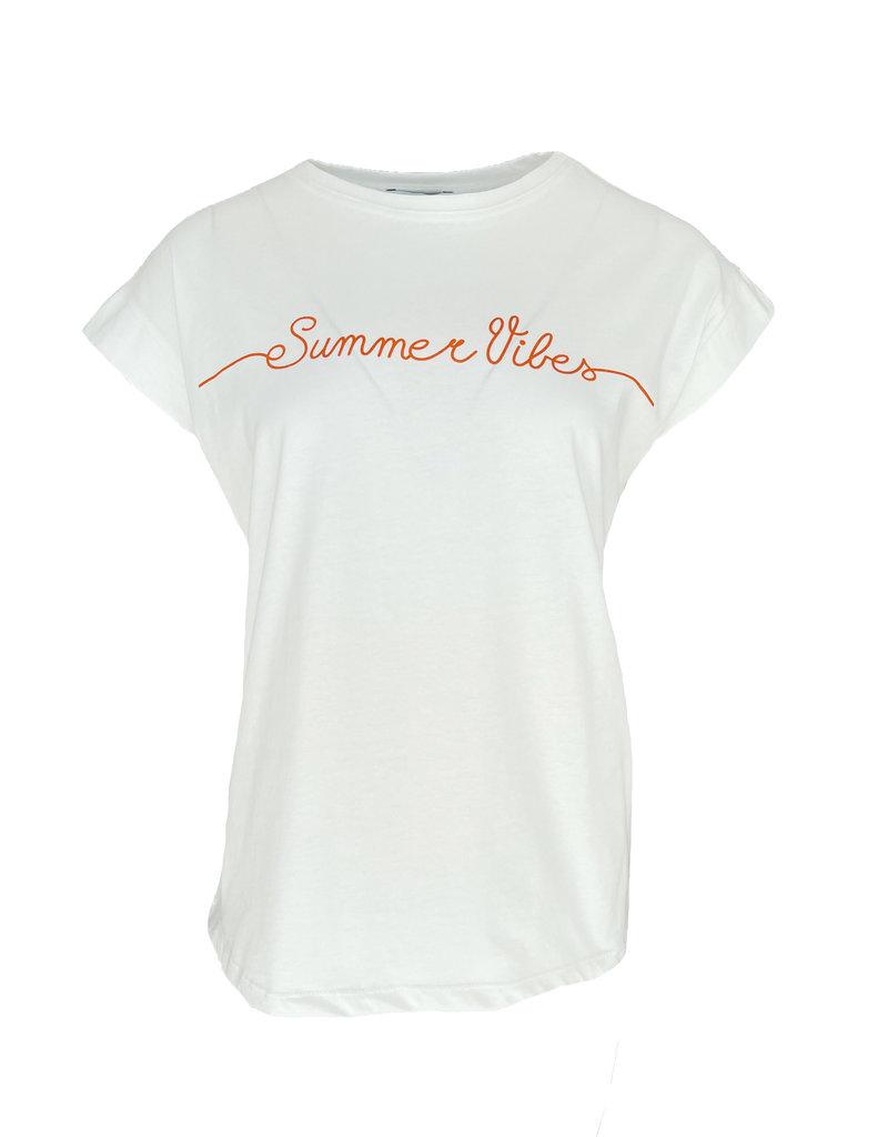 Shirt Summer Vibes - Oranje