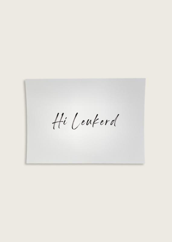 Postcard - Hi Leukerd