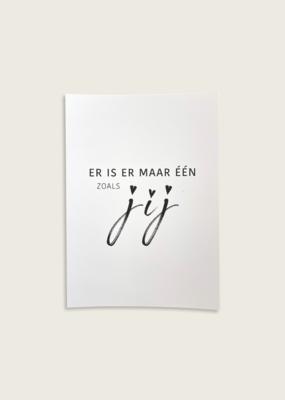 Postcard - Één zoals jij