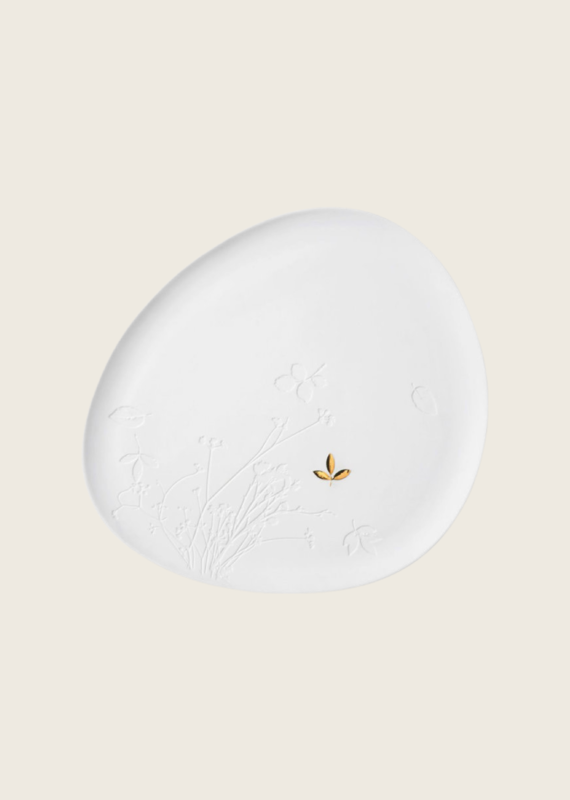 Porcelain Tray 30x34 cm - Blad