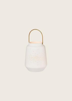 Porcelain Lantern XS - Wit