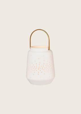 Porcelain Lantern S - Wit
