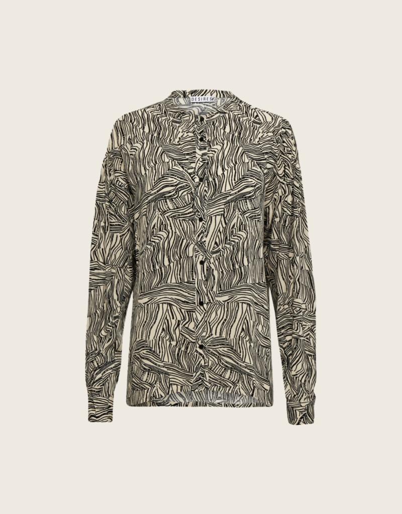 Desires Eileen Shirt - Creme