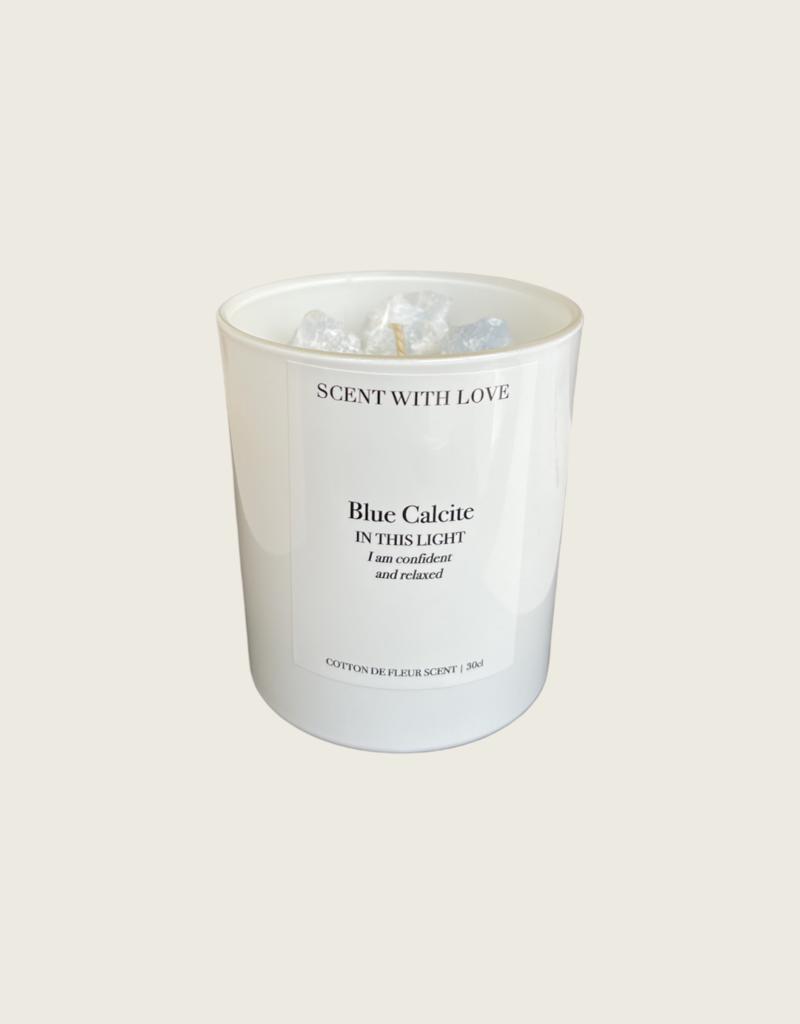 Scent With Love Calcite // Cotton de Fleur - Wit