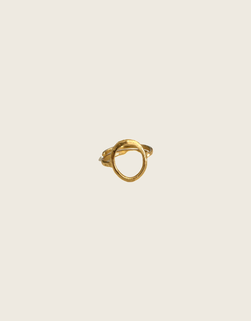 IBU JEWELS Ibu Jewels Ring // Circle - RB