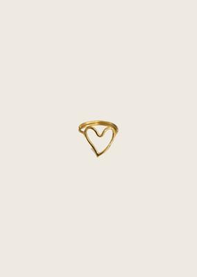 IBU JEWELS Ibu Jewels Ring // Heart - RC